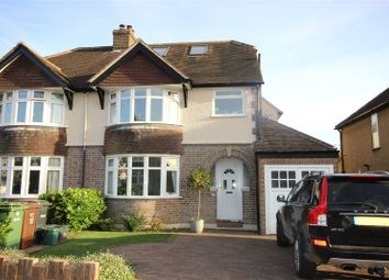 Thumbnail 4 bed semi-detached house for sale in Fairmead Avenue, Harpenden, Hertfordshire