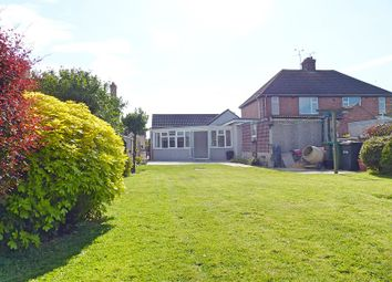 Thumbnail 3 bed detached bungalow for sale in Windsor Road, Yaxley, Peterborough, Cambridgeshire.