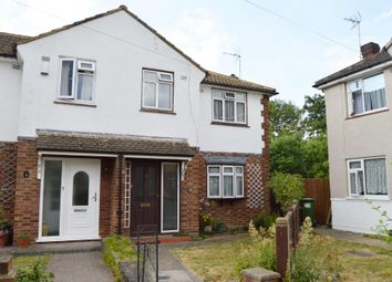 Thumbnail 3 bed end terrace house for sale in Birkdale Avenue, Harold Wood, Romford