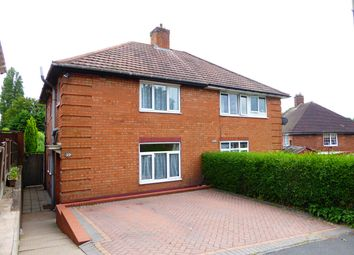 Thumbnail 3 bed semi-detached house for sale in Quarry Road, Birmingham