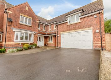 Thumbnail 5 bed detached house for sale in Vindex Close, Lincoln
