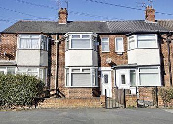 Thumbnail 2 bedroom terraced house for sale in Lamorna Avenue, Hull