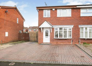 Thumbnail 3 bedroom semi-detached house for sale in Bridgemary Close, Wolverhampton, West Midlands