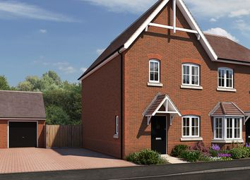 "Thumbnail 3 bed semi-detached house for sale in ""The Sycamore"" at The Ridge, Blunsdon, Swindon"