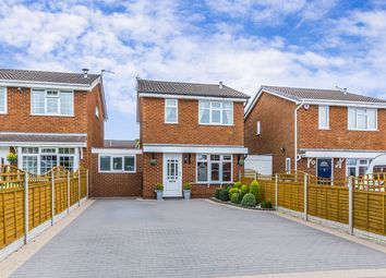 Thumbnail 3 bed detached house for sale in Woodbridge Road, Newcastle