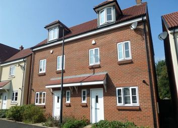 Thumbnail 3 bed property to rent in John St Quinton Close, Stoke Gifford, Bristol