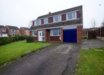 Thumbnail 3 bed detached house for sale in Yorke Close, Marchwiel, Wrexham
