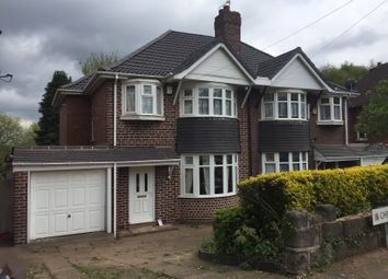 Thumbnail 3 bedroom semi-detached house to rent in Cherry Orchard Road, Handsworth Wood