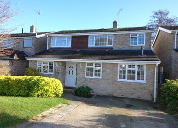 Thumbnail 4 bed detached house for sale in Broomsquires Road, Bagshot