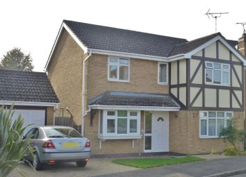 Thumbnail 4 bed detached house for sale in Partridge Way, Oakham