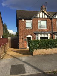 Thumbnail 3 bed semi-detached house to rent in Brockley Road, West Bridgford, Nottingham