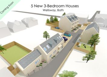 Thumbnail 3 bedroom detached house for sale in Plot 5, Wellsway, Bath