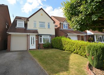 Thumbnail 4 bed detached house for sale in Warrilow Heath Road, Waterhayes, Newcastle