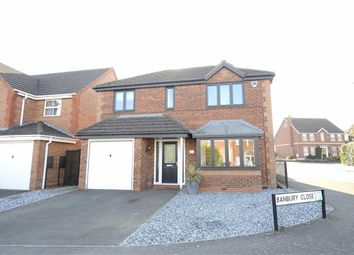 Thumbnail 4 bed detached house for sale in Banbury Close, Wellingborough
