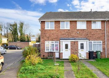 Thumbnail 2 bed end terrace house for sale in Bargrove Road, Maidstone, Kent