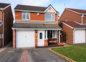 Thumbnail 3 bed detached house for sale in Primrose Close, Cramlington