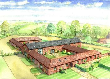 Thumbnail 4 bed barn conversion for sale in Brandon Road, Hougham, Grantham