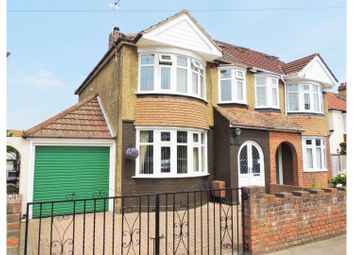 Thumbnail 3 bed semi-detached house for sale in Blaker Avenue, Rochester