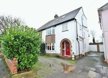 Thumbnail 5 bed semi-detached house for sale in De Vere Road, Lexden, Colchester, Essex