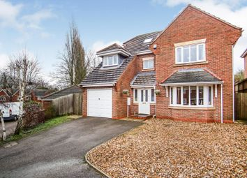 Thumbnail 5 bed detached house for sale in Merlin Close, Rothley