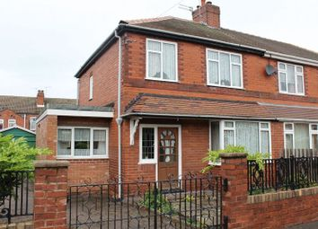 Thumbnail 3 bed semi-detached house for sale in Wolsey Avenue, Pontefract
