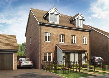 "Thumbnail 3 bed semi-detached house for sale in ""The Souter"" at Mascalls Court Road, Paddock Wood, Tonbridge"