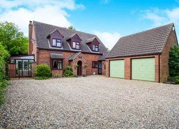 Thumbnail 5 bed detached house for sale in Padnal Bank, Prickwillow, Ely