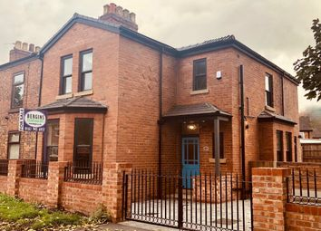 Thumbnail 3 bed terraced house for sale in Royle Green Road, Northenden, Manchester