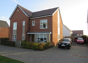 Thumbnail 3 bed semi-detached house for sale in Spruce Drive, Ravenstone, Coalville