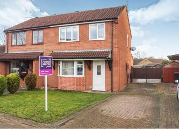 Thumbnail 3 bed semi-detached house for sale in Oakdene Avenue, Bracebridge Heath