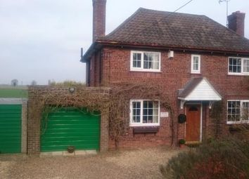 Thumbnail 3 bedroom detached house for sale in Three Holes, Wisbech, Norfolk