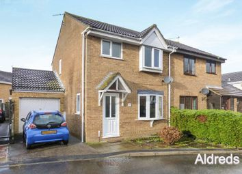 Thumbnail 3 bed semi-detached house for sale in Malin Court, Caister-On-Sea, Great Yarmouth