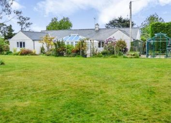 Thumbnail 4 bed detached bungalow to rent in Rhydyclafdy, Pwllheli
