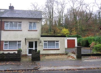 Thumbnail 3 bedroom semi-detached house for sale in Main Road, Gwaelod-Y-Garth, Cardiff