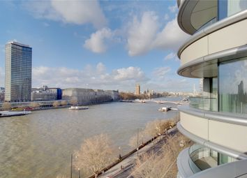 Thumbnail 2 bed flat to rent in The Corniche, Albert Embankment, London