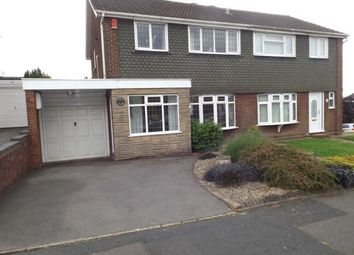 Thumbnail 3 bedroom semi-detached house for sale in Muirfield Crescent, Tividale, Oldbury, West Midlands