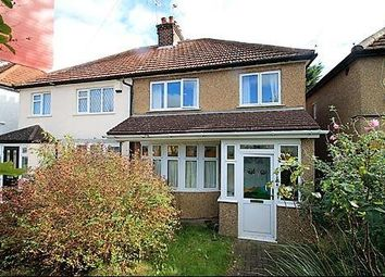 Thumbnail 3 bed semi-detached house for sale in Hazeltree Road, Watford, Herts