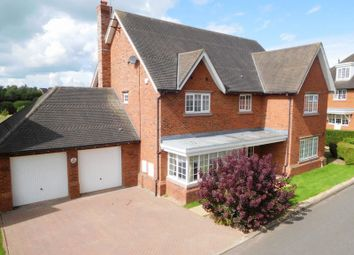 Thumbnail 6 bed detached house for sale in Silverdale Close, Wychwood Park, Weston