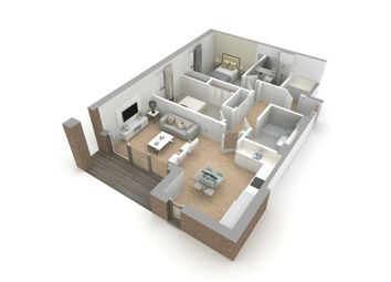 "Thumbnail 2 bed flat for sale in ""Type H"" at Jordanhill, Glasgow"