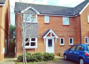 Thumbnail 3 bedroom semi-detached house for sale in Daniels Close, Gosport