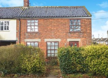 Thumbnail 4 bedroom semi-detached house for sale in London Road, Wrentham, Beccles