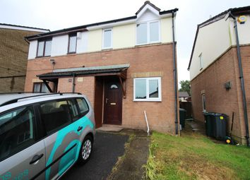 Thumbnail 2 bed semi-detached house to rent in Oakleafe Drive, Pontprennau, Cardiff