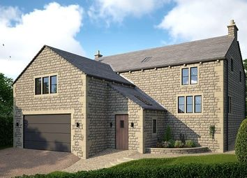 Thumbnail 4 bed detached house for sale in Storth Brook Court, Simmondley Village, Glossop