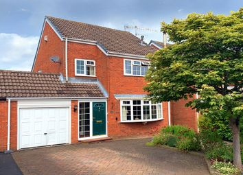 Thumbnail 3 bed detached house for sale in Usulwall Close, Eccleshall, Staffordshire
