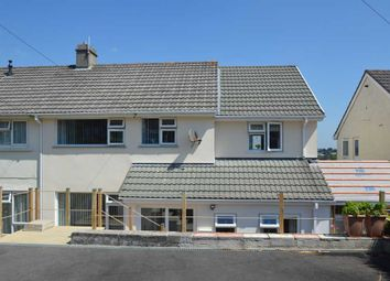 Thumbnail 4 bed semi-detached house for sale in Carrick Road, Falmouth