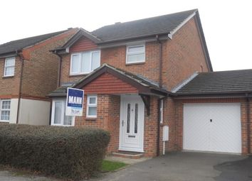 Thumbnail 3 bed link-detached house to rent in New Rectory Lane, Kingsnorth, Ashford