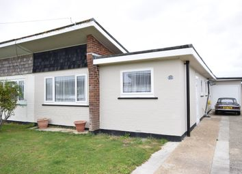 Thumbnail 3 bed semi-detached bungalow for sale in Sunset Close, Pevensey Bay
