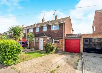 Thumbnail 3 bed semi-detached house for sale in Rochester Crescent, Hoo, Rochester