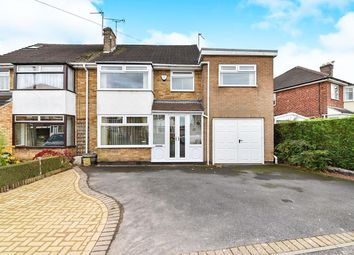 Thumbnail 3 bed semi-detached house for sale in Field Close, Borrowash, Derby