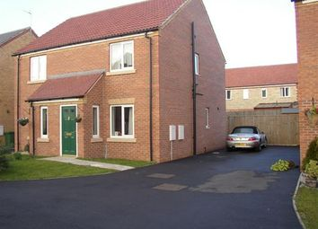 Thumbnail 2 bed semi-detached house to rent in Oakwell Close, Scunthorpe